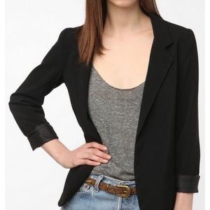 Urban Outfitters Silence + Noise Black Blazer